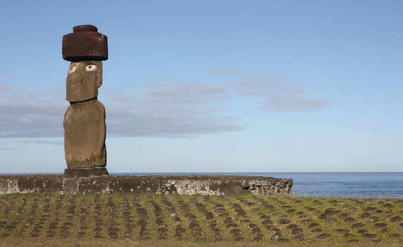 Photo from Easter Island