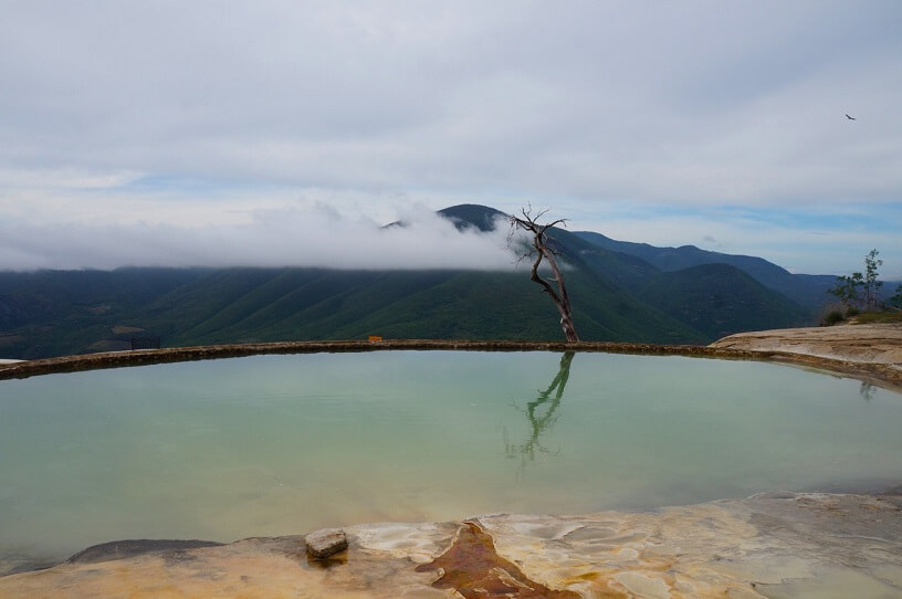 First Pool at Hierve el Agua, Mexico