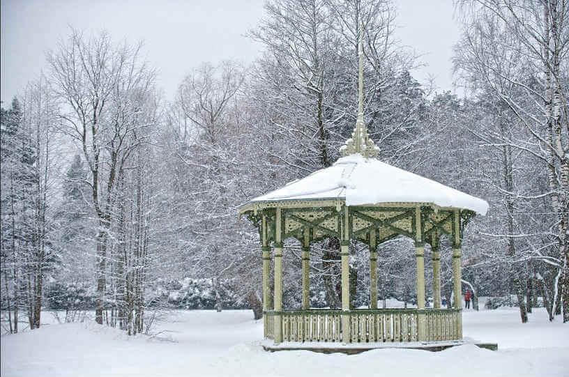 Snow Photo from Estonia