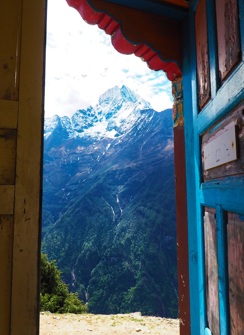 mt Everest view