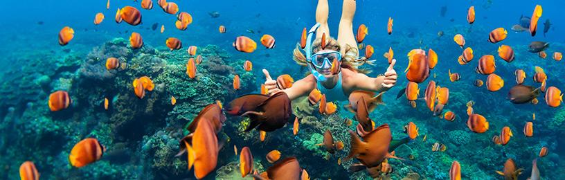 female-snorkelling-bali-indonesia