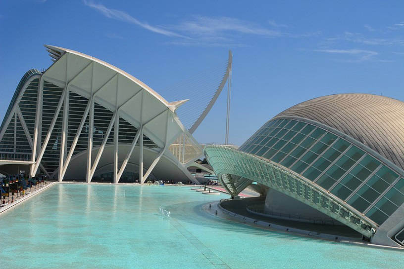 Science Arts Building, Valencia Spain