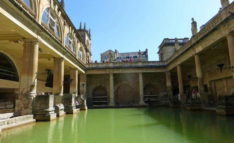 Bath, England - Roman Baths
