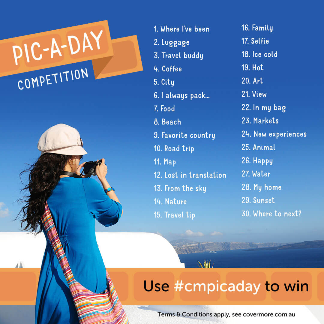 Pic-A-Day April Competition