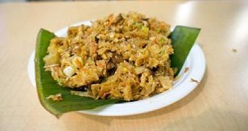 Thumbnail image Kottu Rotti, Traditional Sri Lankan Food