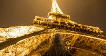 Visit the Eiffel Tower at night