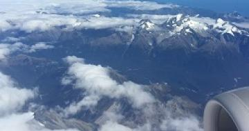 Thumbnail image from plane landing in Queenstown