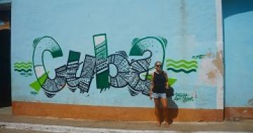 Thumbnail image of street art in Trinidad, Cuba