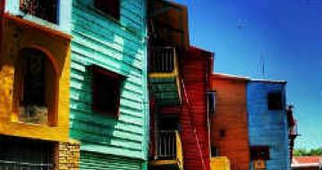 Thumbnail image of colourful houses in Argentina