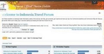 Thumbnail image of Travel forum screenshot