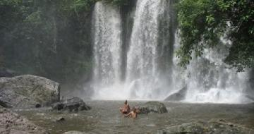 Thumbnail image of Waterfalls, Phnom Kulen, Cambodia