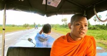 Thumbnail image of Sinet in Tuk Tuk in Siem Reap, Cambodia