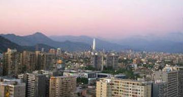 Thumbnail image of Santiago Skyline, Chile