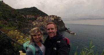 Thumbnail image of Jess's selfie in Cinque Terre