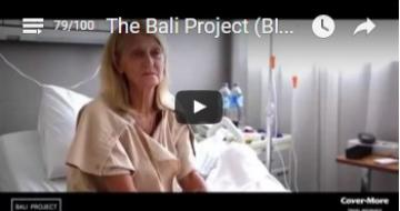 Video of customer with Bali Belly