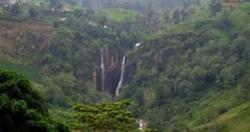 Thumbnail image of waterfalls of Central Sri Lanka