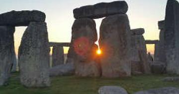 Thumbnail image of Sunset Photo at Stonehenge – England