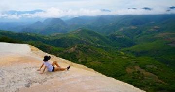 Thumbnail image of Hierve el Agua View in Mexico