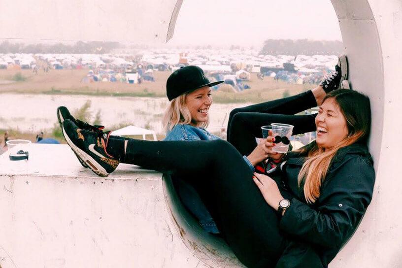Denmark has a huge summer festival scene