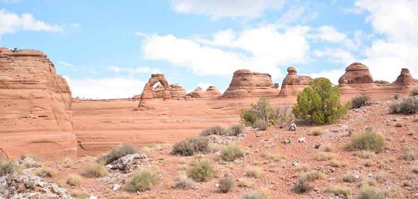 Utah Delicate Arch View