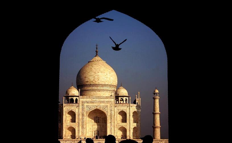 Photo of the Taj Mahal, Agra, India